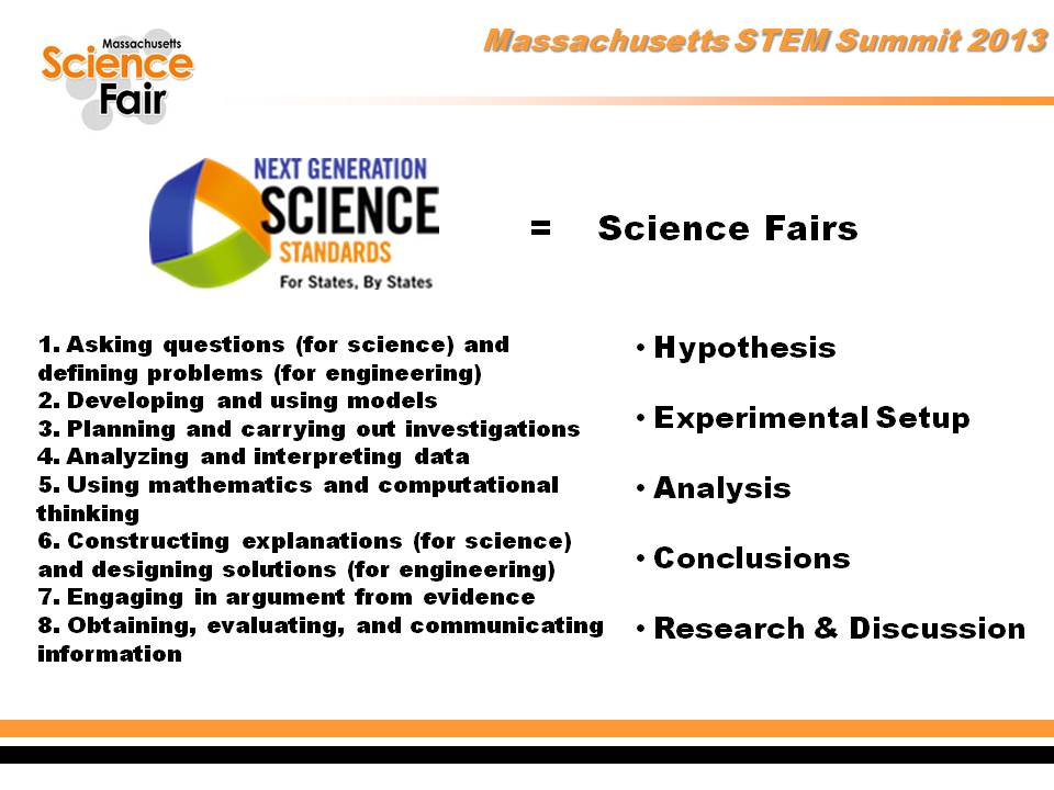 NGSS Practices & Science Fairs