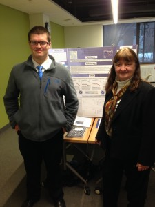 Pat Monteith at Regional Science Fair